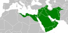 220px-Mohammad_adil_rais-Caliph_Umar's_empire_at_its_peak_644